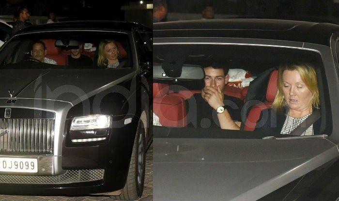 Priyanka Chopra-Nick Jonas Head to Salman Khan's House Post Their Wedding Reception Last Night, See Photos