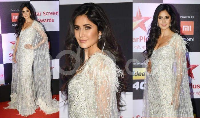 Katrina Kaif at the red carpet of Star Screen Awards 2018. Photo Courtesy: Yogen Shah/ India.com