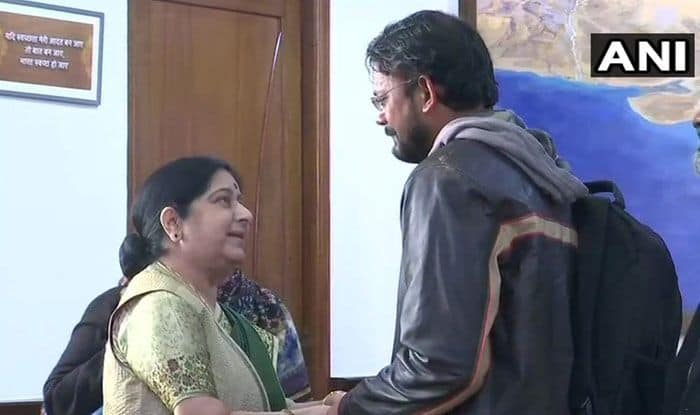 On Return From Pakistan After Six Years, Hamid Nihal Ansari Narrates His Ordeal to Sushma Swaraj