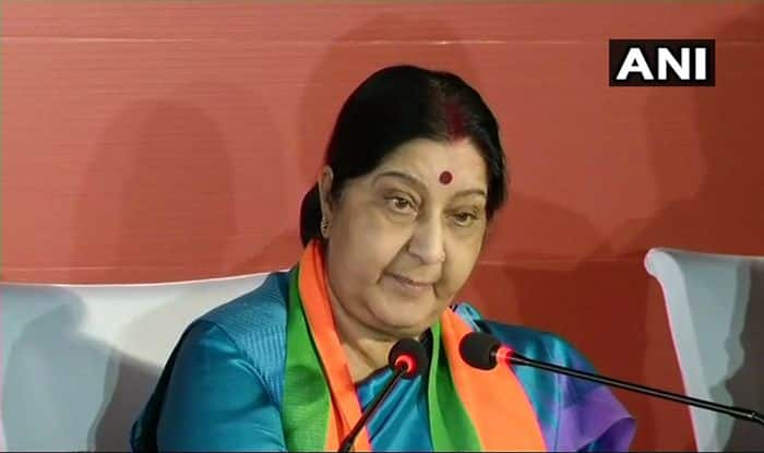 Sushma Swaraj Slams Priyanka Gandhi, Mamata Banerjee For 'Crossing Limits'