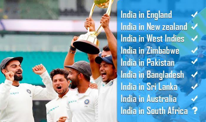 List of India's Overseas Test Wins