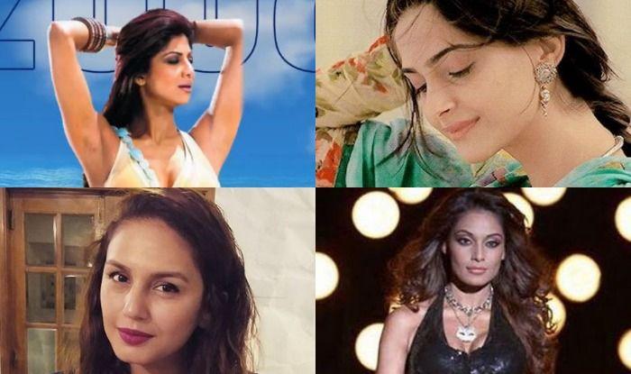 Bipasha Basu, Shilpa Shetty, Sonam Kapoor, Huma Qureshi