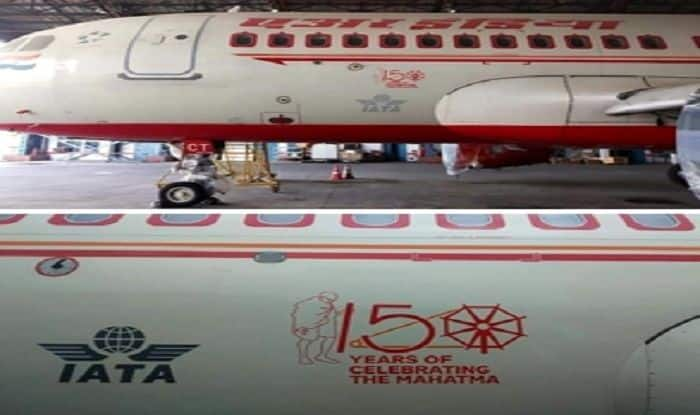 Air India Pays Tribute to Mahatma Gandhi, Inducts Aircraft With Special Logo