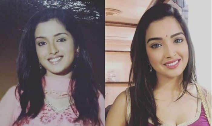 Bhojpuri Bombshell Amrapali Dubey Looks Hot as She Shares Her 10 Year Challenge Post on Instagram
