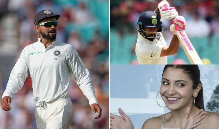 India vs Australia 4th Test Sydney: Anushka Sharma Roots For Husband Virat Kohli From Stands as India Captain Plays Crips Shots at SCG   SEE PICS