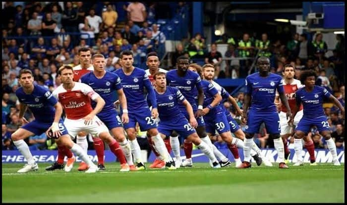 Arsenal v Chelsea_Picture credits-Twitter