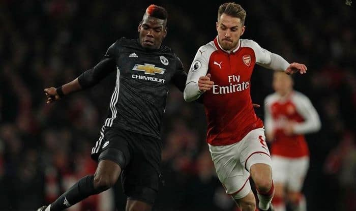 Arsenal vs manchester United FA Cup clash_picture credits-Twitter