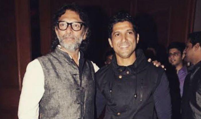 Farhan Aktar with Rakeysh Omprakash Mehra
