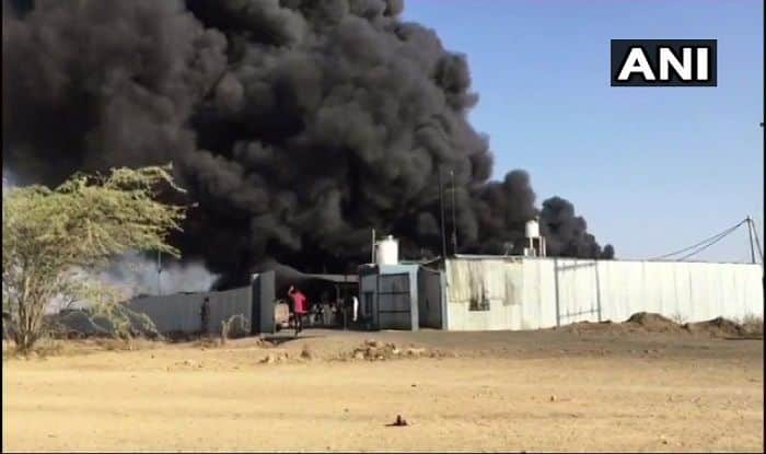 MP: Massive Fire Breaks Out at Tyre Factory in Mandsaur, no Casualties Reported