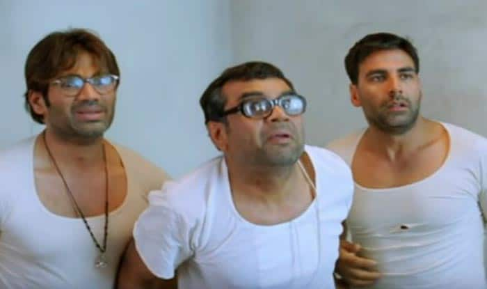Suniel Shetty, Paresh Rawal and Akshay Kumar
