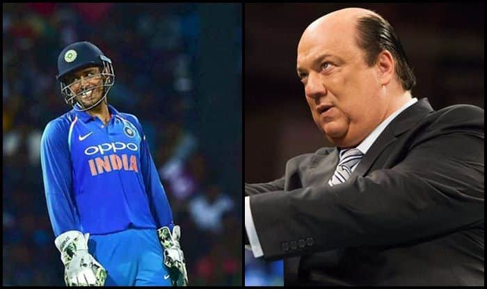 Heyman Tweets About MS Dhoni