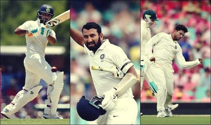 India vs Australia 4th Test Sydney: Cheteshwar Pujara, Rishabh Pant, Kuldeep Yadav Star as Rain, Bad Light Rob Visitor's of a Win at SCG, Virat Kohli-Led Team India to Register Historic 2-1 Series Win