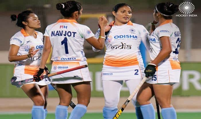 Indian Women's Hockey Draw 1-1 Against Ireland