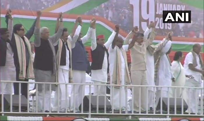 Mamata Banerjee's Mega Opposition Rally Sets Tone For Lok Sabha Elections 2019; PM Narendra Modi Calls 'Gathbandhan' Anti-People