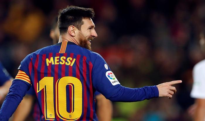 fa58e6f3f La Liga Roundup: Legend Lionel Messi Scores 400th League Goal, Sends  Barcelona Five Points Clear in Table