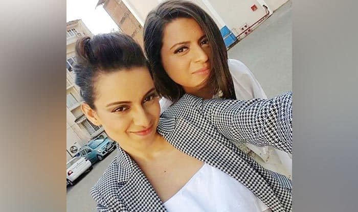 Kangana Ranaut and her sister Rangoli