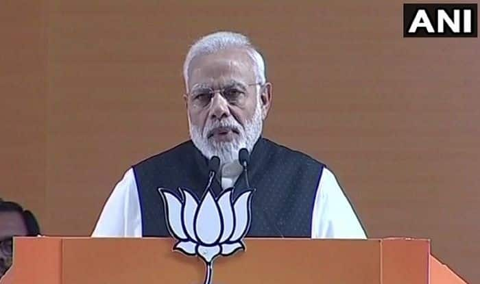 BJP National Convention: Opposition Joining Hands to Form 'Majboor' Sarkar, Says PM Narendra Modi