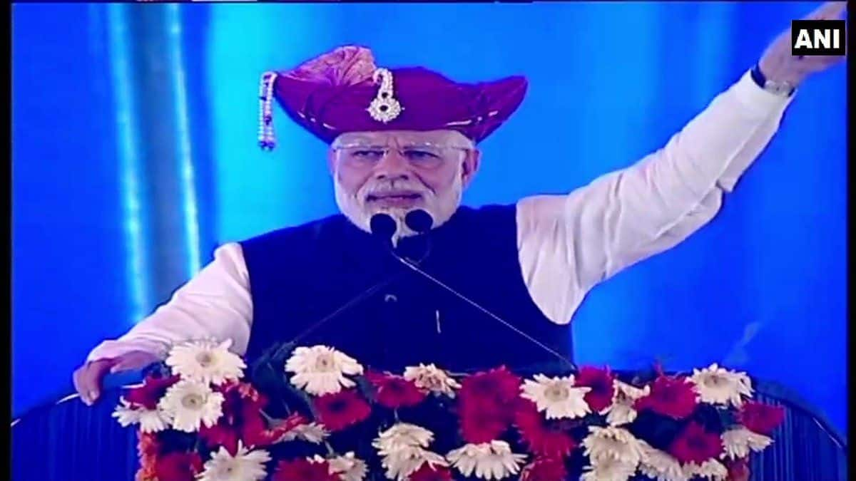 PM Narendra Modi in Silvassa: 'This Gathbandhan Isn't Against me But Against People of India'