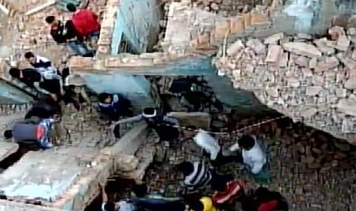 Noida: One Dead After Two-storey Building Collapsed Near Nithari Village, Several Trapped