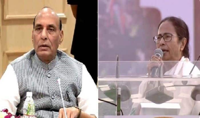 Rajnath Singh Dials Mamata Banerjee as TMC, BJP Workers Clash After Amit Shah's Rally in East Midnapore, Asks Her to Take Stern Action Against Culprits
