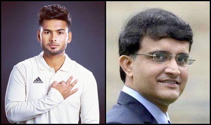 Rishabh Pant-Sourav Ganguly