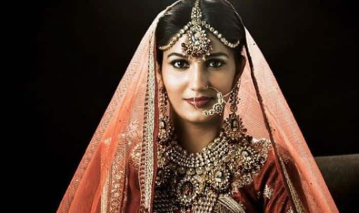 Haryanvi Hotness And Chetak Fame Sapna Choudhary Looks Ethereal in Bridal Avatar – See Pictures
