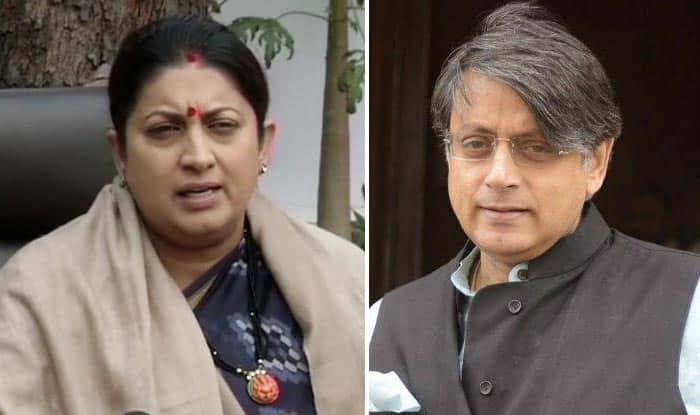 How Can Rahul Gandhi, Who Wears Janeu, During Polls Allow Attack on Hindu Beliefs: Smriti Irani on Shashi Tharoors' Kumbh Remark