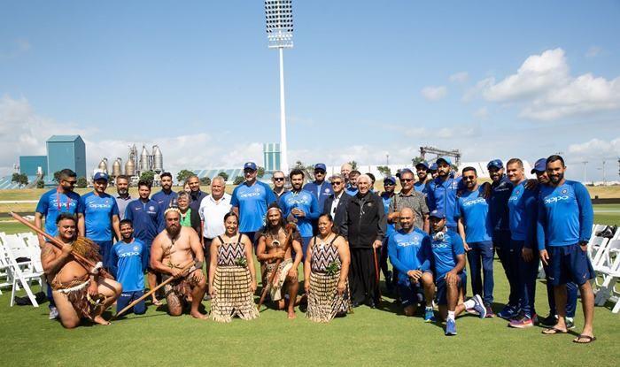 India vs New Zealand 2nd ODI: Rohit Sharma, Ravi Shastri-Led Team India Given Traditional Māori Welcome at Tauranga's Bay Oval | SEE PICS