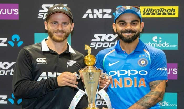 Virat Kohli and Kane ahead of NZ vs Ind-Picture credits-BCCI Media