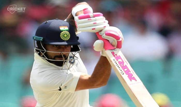 India vs Australia 4th Test Sydney: Virat Kohli Wins Heart With Beautiful Gesture in Sydney, Flaunts Pink Bat And Gloves to Raise Cancer Awareness; Twitter Hails Indian Skipper