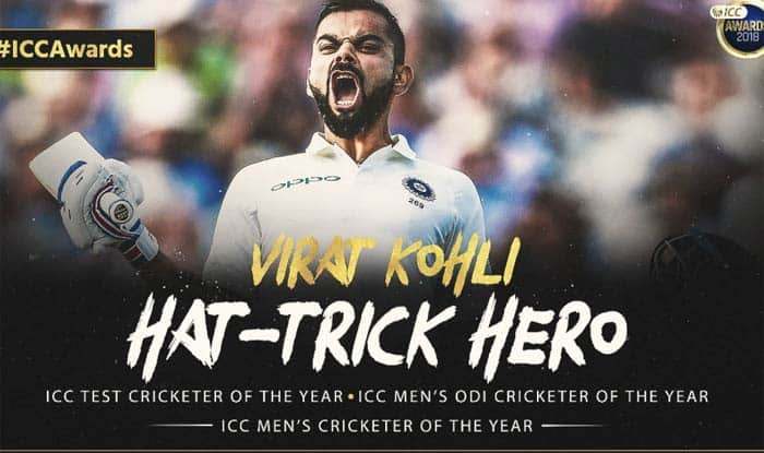 ICC Awards 2018: From Virat Kohli to Rishabh Pant, Kane Williamson to Aaron Finch; Here's Complete List of Award Winners