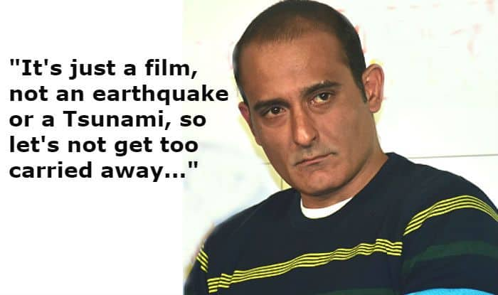 The Accidental Prime Minister is Not Earthquake or Tsunami But Just a Film, Says Akshaye Khanna