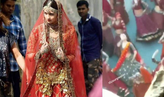 Alia Bhatt's Bridal Look From Kalank Leaked: Viral Video Shows Actress Dancing to Folk Song