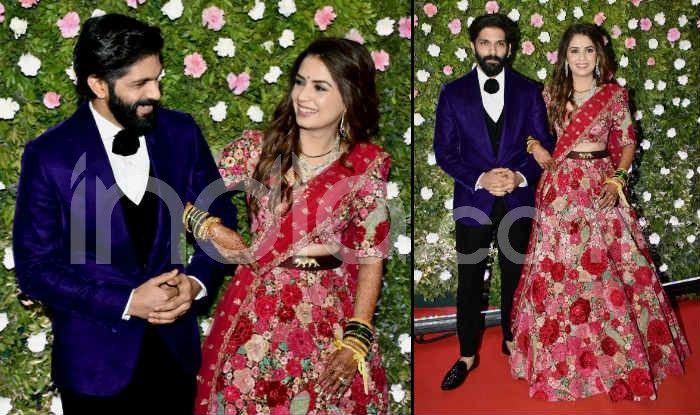 Amit Thackeray-Mitali Borude Wedding Reception: Raj Thackeray And Family Pose For The Cameras-See Pics