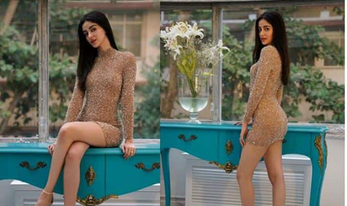 Chunky Pandey's Daughter Ananya Pandey Flaunts Her Hot And Sexy Figure in These Instagram Pictures