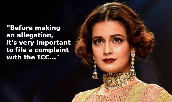 Dia Mirza Speaks on Rajkumar Hirani, Sexual Harassment at Workplace, And Need For Legal Complaints Under #MeToo