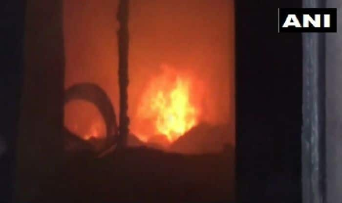 Ludhiana: Fire Breaks Out at Pharmaceutical Factory in Upkar Nagar; Situation Under Control
