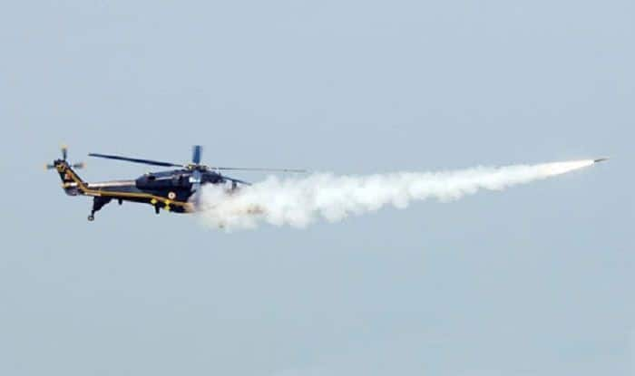 HAL's Light Combat Helicopter Successfully Completes Air to Air Missile Firing Trials