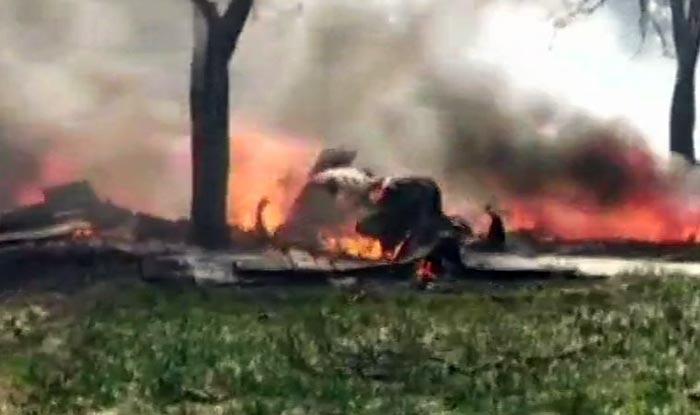 Uttar Pradesh: IAF Jaguar Crashes in Kushinagar; Pilot Safe