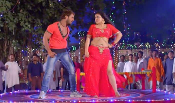 Bhojpuri Bombshell Amrapali Dubey And Superstar Khesari Lal Yadav's Song 'Marad Abhi Baccha Ba' Featuring Their Seductive Chemistry Clocks Over 80 Million Views on YouTube – Watch