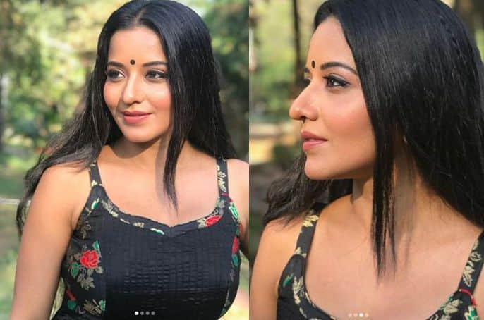 Bhojpuri Bomb And Nazar Actress Monalisa Looks Hot in Sexy Black Sleeveless Suit, See Pictures