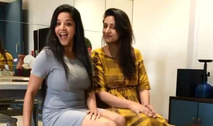 Bhojpuri Sensation Monalisa Wears a Sexy Short Grey Dress as She Enjoys Her 'Girlie Time' With a Friend-Watch Video