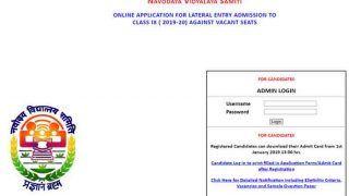Navodaya Vidyalaya Recruitment 2019: Registration Begins at navodaya.gov.in