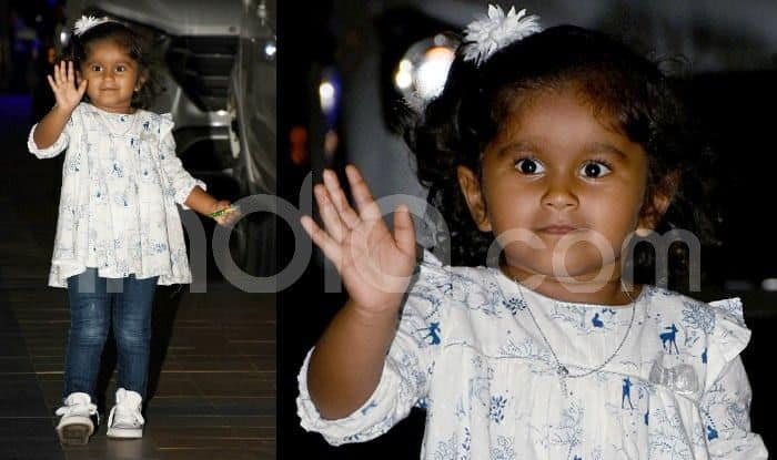 Sunny Leone's Daughter Nisha Kaur Weber Waves to Paparazzi Like Taimur Ali Khan, Cute Pictures Will Melt Your Heart