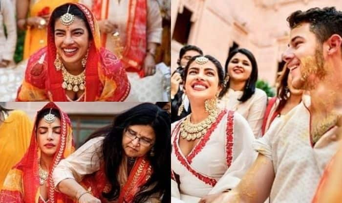 Priyanka Chopra-Nick Jonas' Haldi Ceremony Pictures Are All About Laughter, Fun And Family