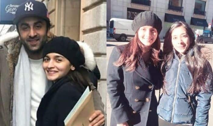 Alia Bhatt-Ranbir Kapoor Beam With Happiness as They Enjoy Chilly Weather of New York, See Pics