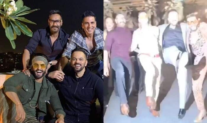 Umang 2019: Akshay Kumar Enjoys With Ranveer Singh, Ajay Devgn And Rohit Shetty