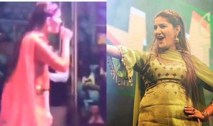 Haryanvi Bomb Sapna Choudhary Flaunts Her Sexy Thumkas During a Stage Show, Video Goes Viral, Watch