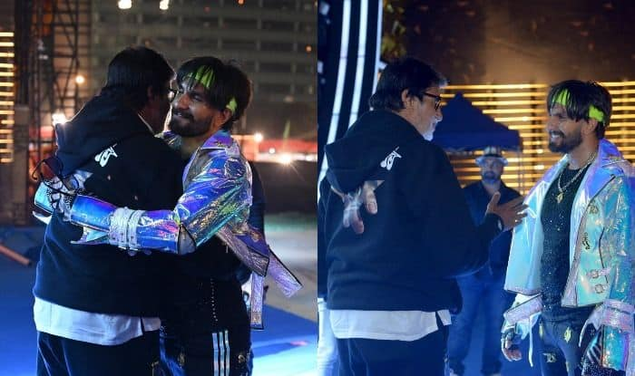 Amitabh Bachchan Bumps into 'Electric Eclectic' Ranveer Singh And Their Pictures Are Too Good to Miss