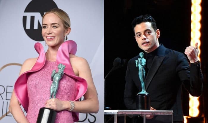 SAG Awards 2019: Rami Malek, Emily Blunt, Glenn Close Win Top Honours, Check Full List of Winners
